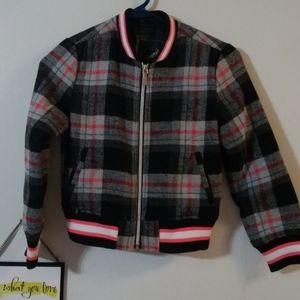 Collection b plaid jacket